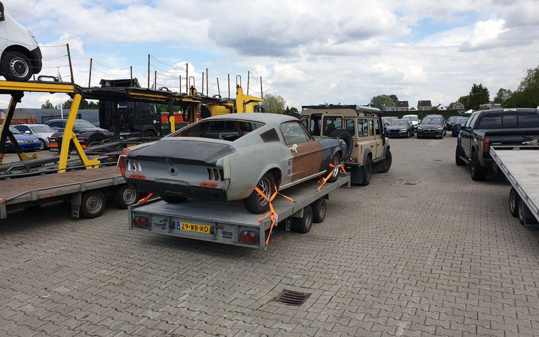 67 Mustang Fastback – deel 1